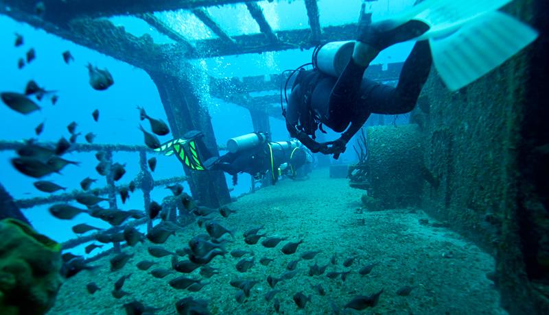 Chancanaab scuba-diving in Cozumel 2020
