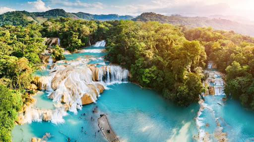 Chiapas waterfall