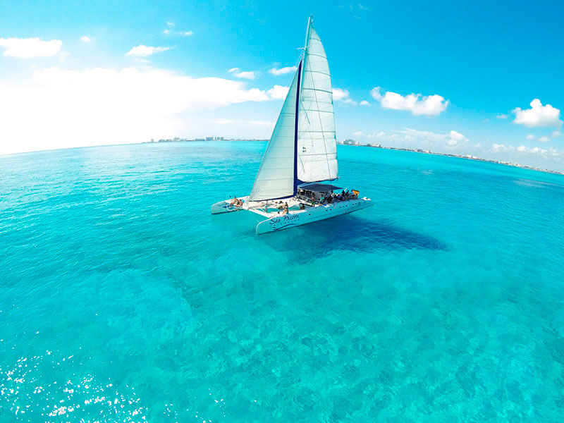 catamaran tour to isla mujeres