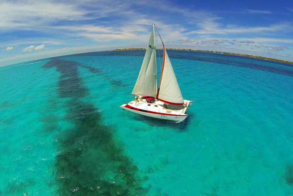 Catamaran Tour to Isla Mujeres Cancun MExplor