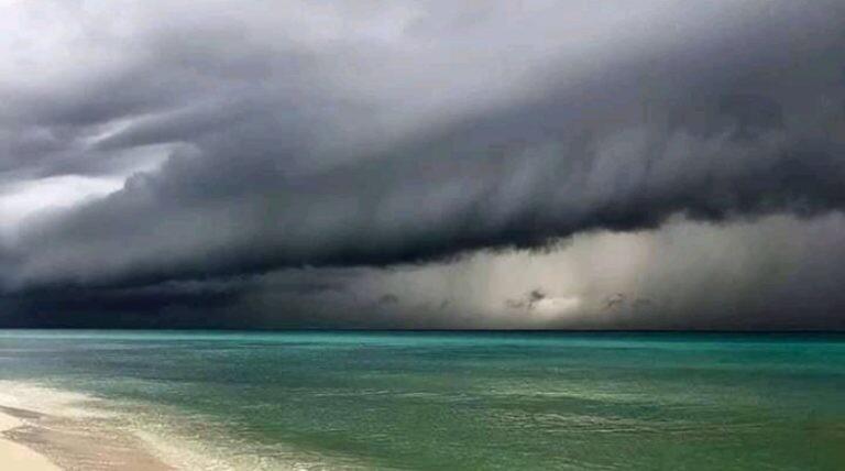 Cancún despues el huracan Delta