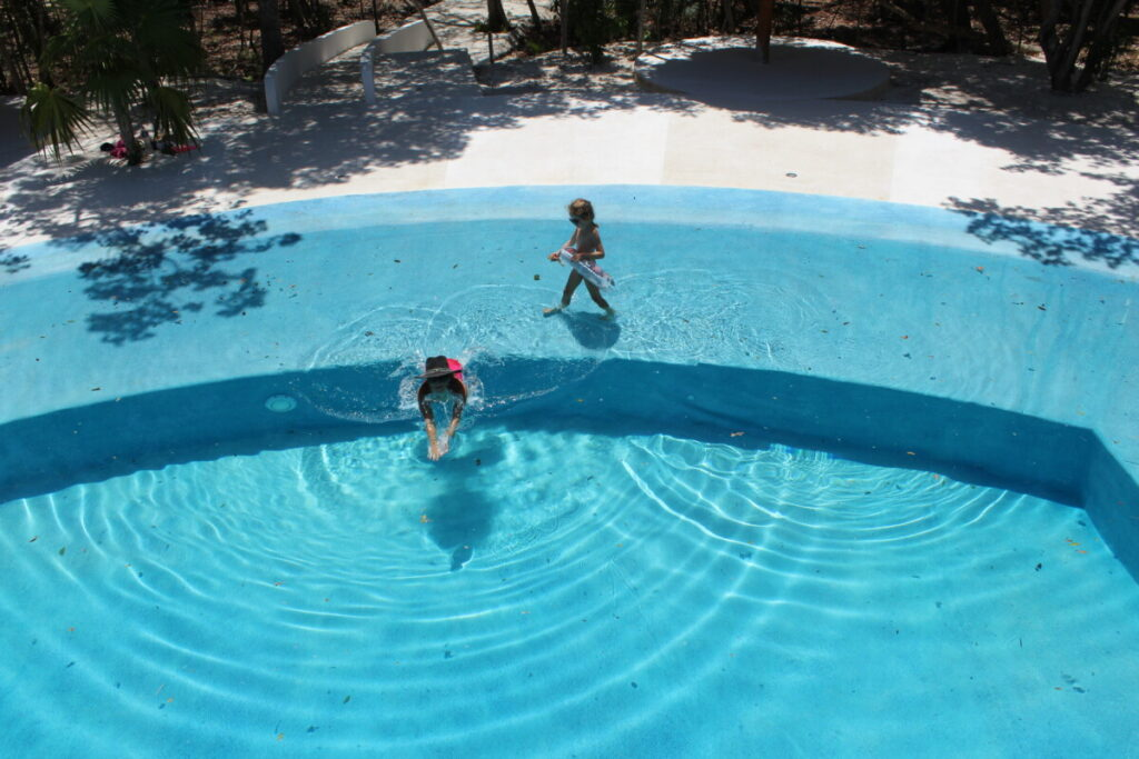 Swimming pool in Puerto Morelos