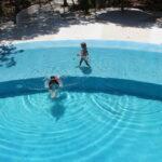 Swimming pool in Puerto Morelos