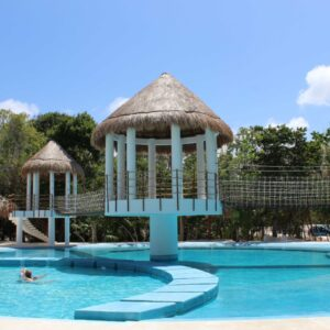 Access Private Swimming Pool Puerto Morelos