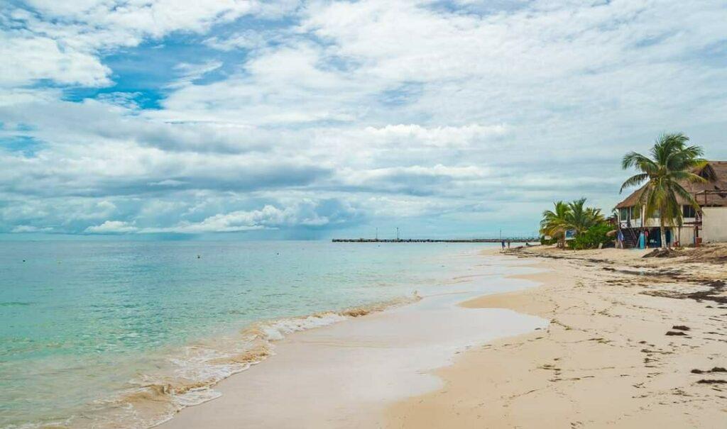 Beach in Puerto Morelos
