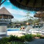Puerto Morelos Swimming pool day