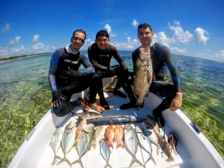 Spearfishing tour Puerto Morelos