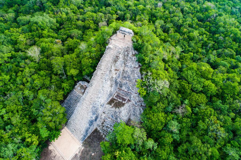 Coba Pyramid Mexico