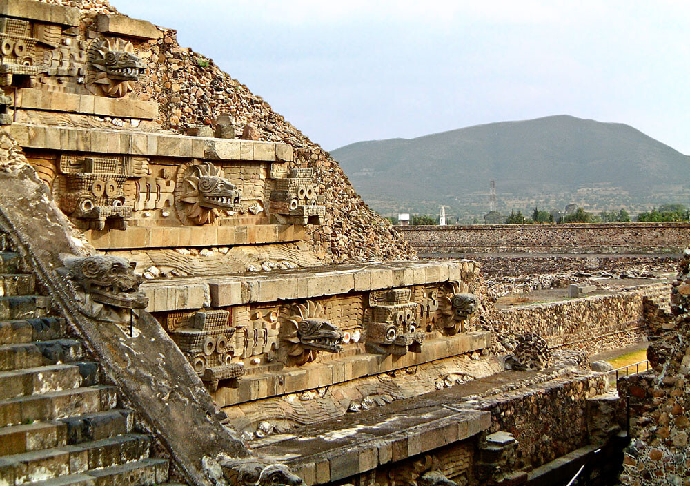Teotihuacan Temple - Mexico