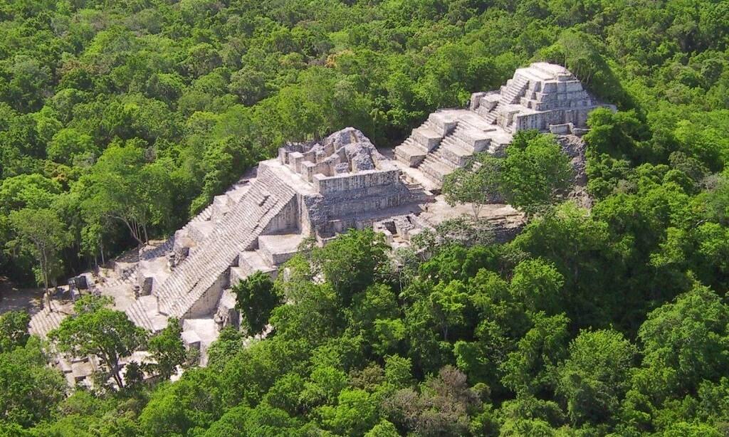 Calakmul Pyramid - Mexico