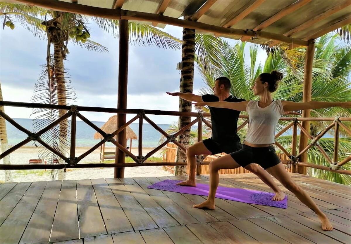 Yoga in Puerto Morelos