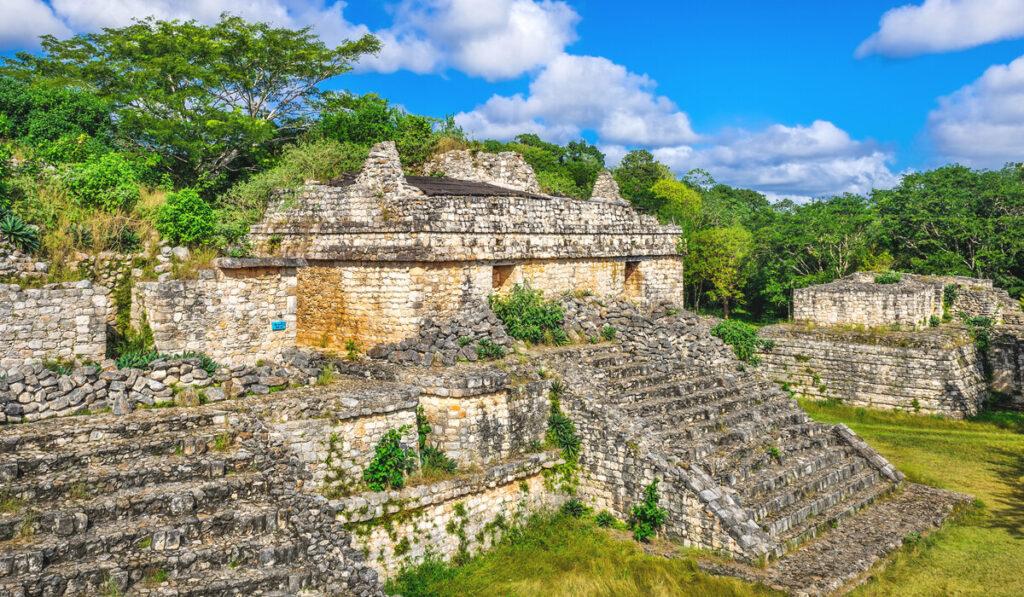 Ek-Balam Pyramid - Mexico