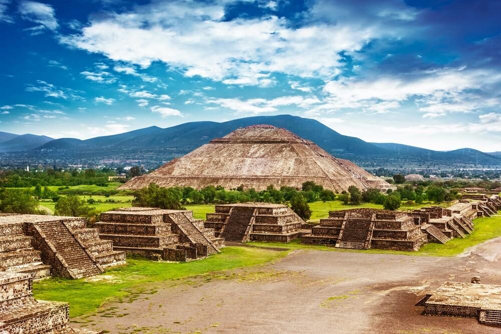Pyramid of the moon - Mexico