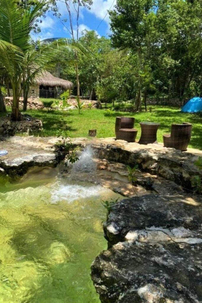 MExplor Villa Swimming pool