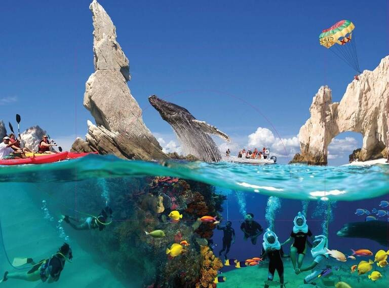 Actividades ecoturísticas y de aventura en Los Cabos