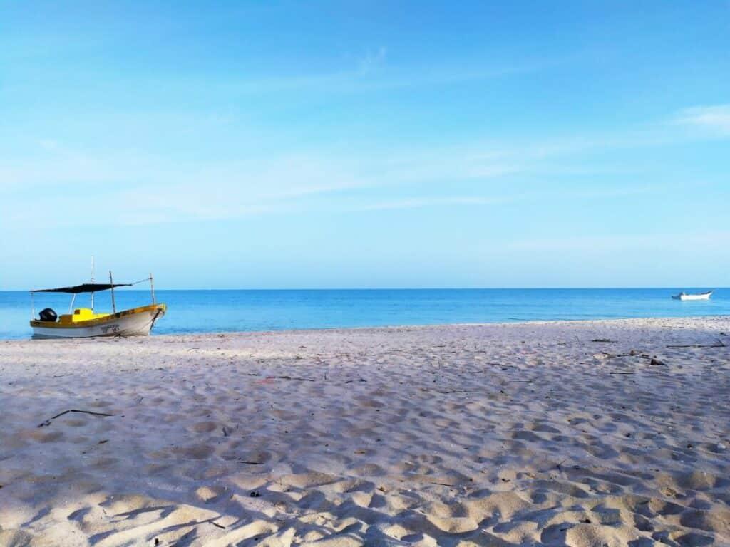 Sisal Beach Yucatan