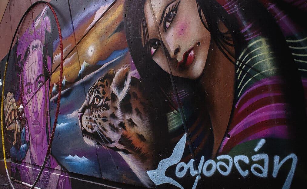 Graffiti de Coyoacan