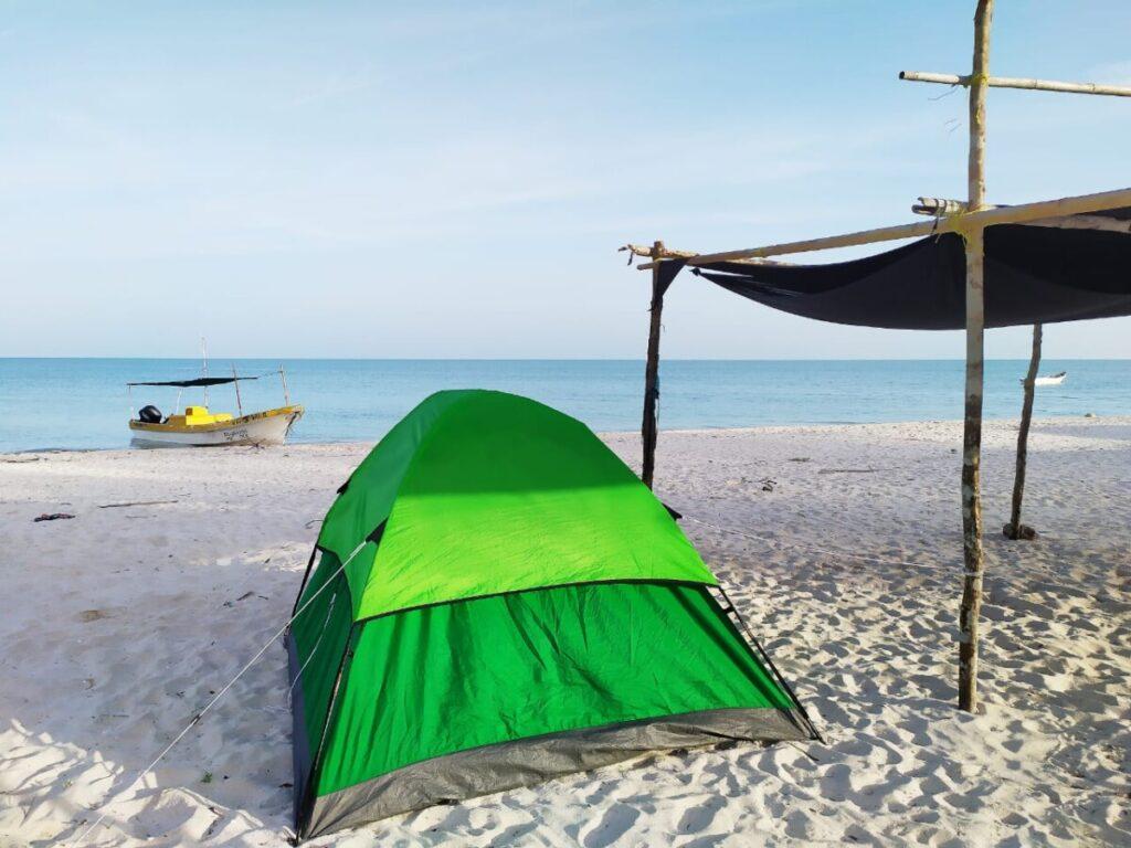 Camping in Sisal