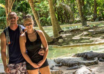 croco zoo Puerto Morelos